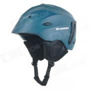 MOON MS-92 Outdoor Cycling One-Piece PC + EPS Bike Helmet - Dark Green (L)