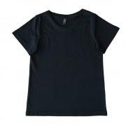 Tricou negru simplu pentru copii