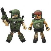 Aliens Minimates Series 2 Pvt. Vasquez & Pvt. Hudson 2 Minifigure 2-Pack