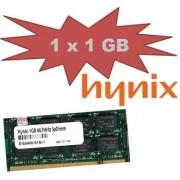 Hynix Original da 1 GB, 200 pin DDR2 - 667 (PC2 - 5300, 667 mhz, CL5) Double Side (HYMP112S64CP8 - Y5) F?R attuale DDR2 Notebooks - 100% compatibile con PC2 - 4200, 533 mhz, CL4