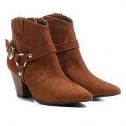 Shoestock Bota Shoestock Cano Curto Country Chelsea Salto Selaria - Feminino