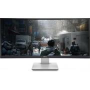 """Monitor IPS LED Dell 34"""" U3415W, WQHD (3440 x 1440), HDMI, MHL, DisplayPort, 8ms GTG, Ecran Curbat, Boxe (Negru/Argintiu)"""
