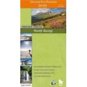 Muntii Bucegi - Harta turistica