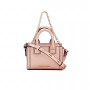 Karl Lagerfeld Women's K/Klassik Micro Tote Bag - Metallic Rose