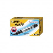 Marking Chisel Tip Permanent Marker, Tuxedo Black, Dozen