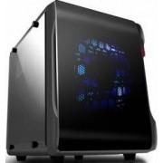 Carcasa Spire PowerCube 715 cu sursa 420W neagra