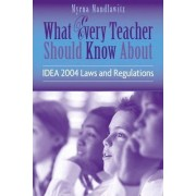 What Every Teacher Should Know About IDEA 2004 Laws and Regulations by Myrna Mandlawitz