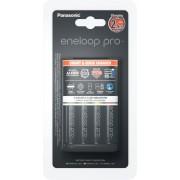 Panasonic Snellader BQ-CC55 + 4x AA Eneloop Pro 2550mAh