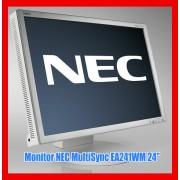 """Monitor LCD 24"""" Wide NEC Categoria A EA241WM Boxe Incluse Full HD 1920 x 1200"""