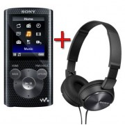Pachet Sony Walkman NWZE384R + casti MDRZX310 E384RZX310BHI