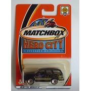 Matchbox 2002 Hero City Collection Black Cadillac Escalade #21