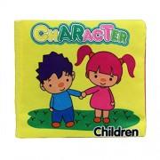 Malloom® blando libro de tela, Bebé Desarrollo de Inteligencia Aprender y leer (character)