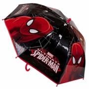 Marvel Spiderman paraplu zwart