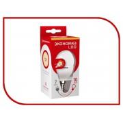 Лампочка Экономка Шарик GL45 7W E14 230V 3000K Eco_LED7WGL45E1430