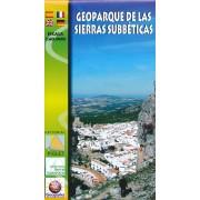Wandelkaart Geoparque de las Sierras Subbeticas | Editorial Piolet