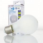 Lâmpada LED E27 5w»50W Luz Quente 600Lm A60 FROSTglass