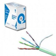 Cablu UTP cat. 5E, din cupru, lungime cablu: 100m, retail, Gri, GEMBIRD (UPC-5004E-SO/100C)
