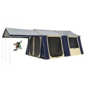 Oztrail Cabin 12x15 Canvas Tent