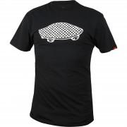 Tricou barbati Vans Checkerboard OTW Logo Tee V5TKBLK