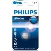 Philips Alkaline A76 LR44 batterij 1.5V per stuk