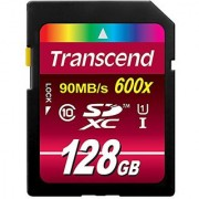Transcend 128 Gb High Speed Class 10 Uhs Flash Memory Card Up To 90 Mb/S Ts128Gsdxc10U1
