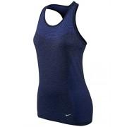 Nike DRI-FIT KNIT TANK - Maglietta Donna, Blu, XS