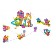 POLLY POCKET ULTIMATE WALL PARTY BUILD UP