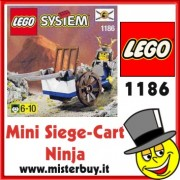 LEGO SYSTEM Siege-Cart Ninja codice 1186 / 3018
