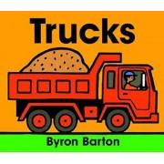 Trucks Board Book by Byron Barton