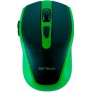 Mouse Wireless Serioux PASTEL 600 (Verde)