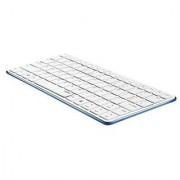 Rapoo / E6350-BU Bluetooth Mini Keyboard - BLUE / Blade Series
