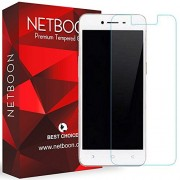 Oppo A37 Tempered Glass Screen Protector Guard - NETBOON® Branded Tempered Glass HD Clarity, 9H Hardness, Ultra thin, Anti-Scratch Original Gorilla Glass Guard for Oppo A37