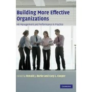 Building More Effective Organizations by Professor Ronald J. Burke