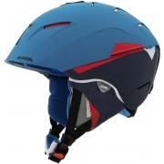 Alpina Cheos - Casque de ski - rouge/bleu 52-56 cm Casques ski & snowboard