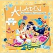 Aladin si lampa fermecata - 6 jocuri de puzzle