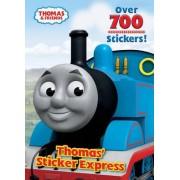 Thomas' Sticker Express by Rev W Awdry