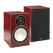 Boxe - Monitor Audio - Silver 2 Walnut Real Wood Veneer
