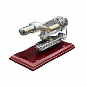 MAIKOU DIY Motor Stirling impulsado por calor juguete educativo - Plata
