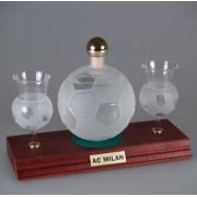 Fotbalový míč 0,35 Litru + 2 pohárky