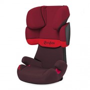 Cybex Silver Solution X Toddler Car Seat Group 2/3 (Rumba Red/ Dark Red)