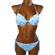 Flowie plavky dvoudílné - výprodej M modrá