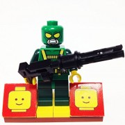 MinifigurePacks: Lego Super Heroes Bundle (1) HYDRA HENCHMAN (1) FIGURE DISPLAY BASE (1) FIGURE ACCESSORY