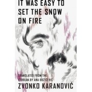 It Was Easy to Set the Snow On Fire by Zvonko Karanovic