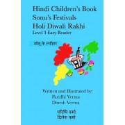 Hindi Children's Book - Sonu's Festivals - Holi Diwali Rakhi by Paridhi Verma