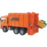 BRUDER kamion MAN TAG djubretarac narandžasti