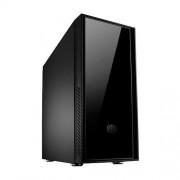 Carcasa Silencio 550, MiddleTower, ATX/mATX, Fara sursa, Negru