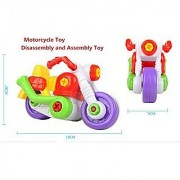 Elloapic Take A Part Toys removable toy Amazing Detachable motorcycle Motobike Play Car Combination Disassembly Toy screwdriver & wrench Toy For Kids Pull Along Screw Building Education Toy