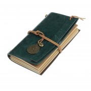 Nioworld Notebook Portátil Retro Del Empate-Verde