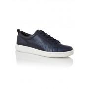 Calvin Klein Danya sneaker van leer met metallic finish