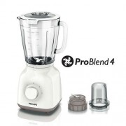 Блендeр, Philips Daily Collection ProBlend 4 400W, 1.5L, Бял (HR2106/00)